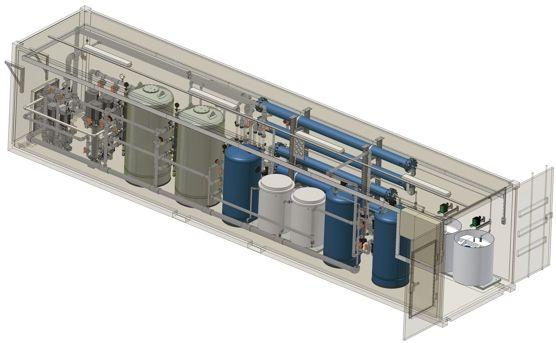 Проектирование и расчет водоподготовки
